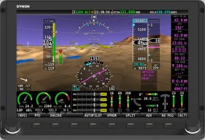 Dynon HDX-10in-Straight Display