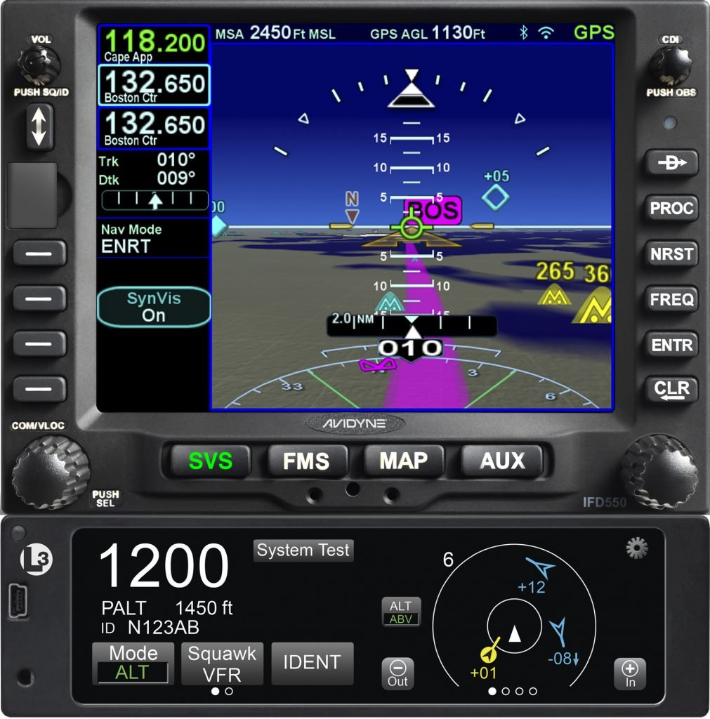 IFD550 Premium FMS/GPS Navigator